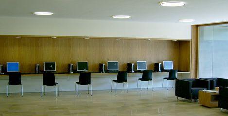 Foyer der Fachhochschule der Sächsischen Verwaltung Meißen - SFH Ingenieurbüro Dresden