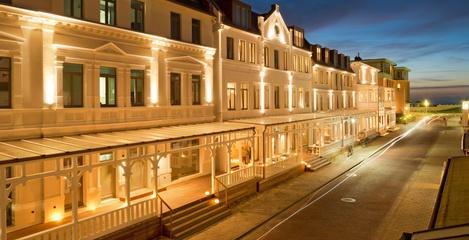 Fassadenbeleuchtung Hotel Inselloft Norderney - SFH Ingenieurbüro Dresden