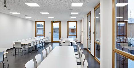 Seminarraum Neubau Betriebshof Stadtwerke Weilheim i.OB - SFH Ingenieurbüro Dresden