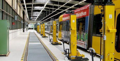 Erweiterung Straßenbahnbetriebshof Dresden Trachenberge - SFH Ingenieurbüro Dresden