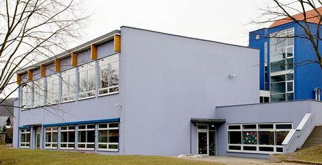 Ansicht Turnhalle Waldblick in Freital - SFH Ingenieurbüro Dresden