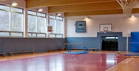Turnhalle Waldblick in Freital, Innenansicht - SFH Ingenieurbüro Dresden